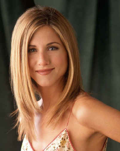jennifer aniston hair color. Aniston A Sedu hairstyle will
